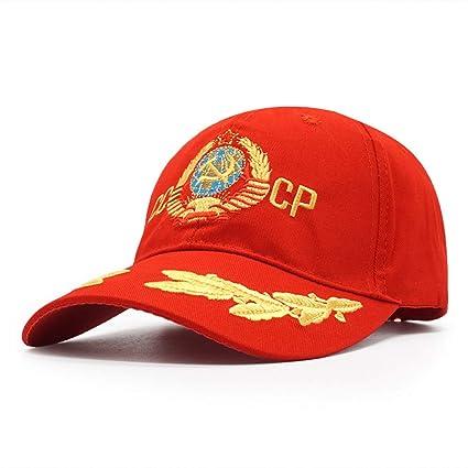 ENGXING CCCP URSS Gorra De Béisbol Rusa Bordado 3D Sun Papá ...