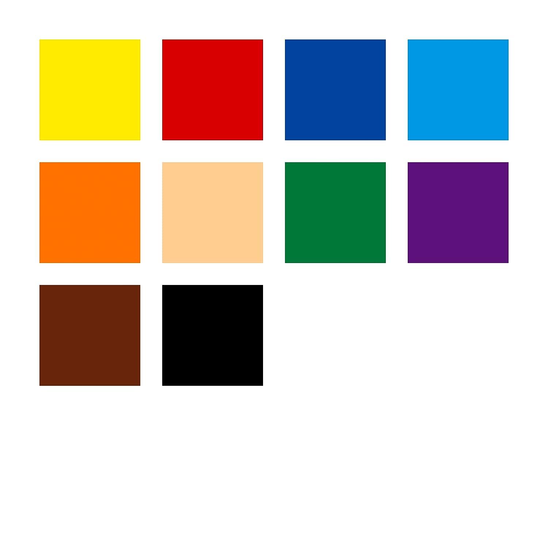 erh/öhte Bruchfestigkeit STAEDTLER Jumbo Buntstifte Noris Club erh/öhte Bruchfestigkeit Dreikantform Set mit 10 brillanten Farben 61 SET7 /& Noris Club 127 NC12P1 Buntstifte ABS-System