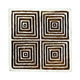 Indian Wooden Textile Stamps Wood Printing Block Geometric Decorative Block