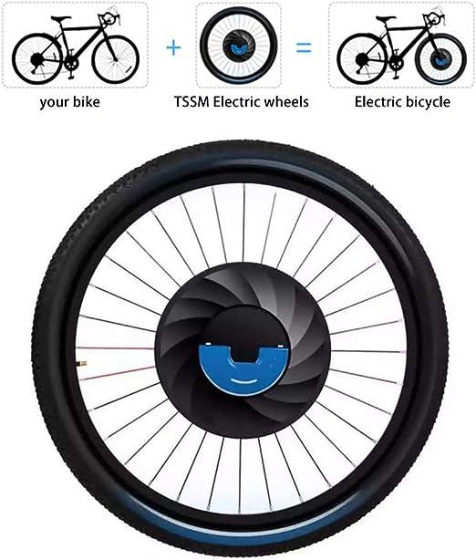 TSSM Rueda Delantera Kit de conversión, 26 Pulgadas Bicicleta ...