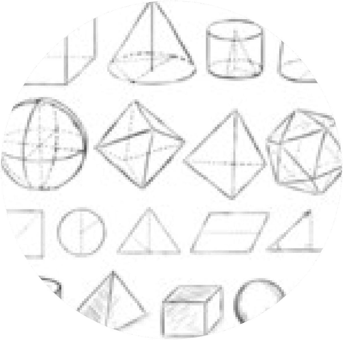 alfombrilla de ratón vector conjunto de formas geométricas ...