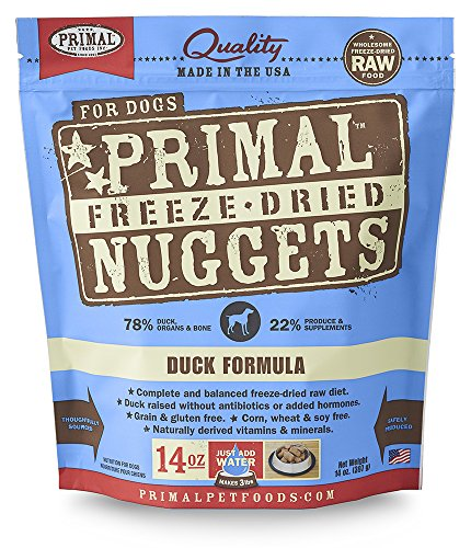 Primal Pet Foods Freeze-Dried Canine Duck Formula 14 oz - Canine Duck