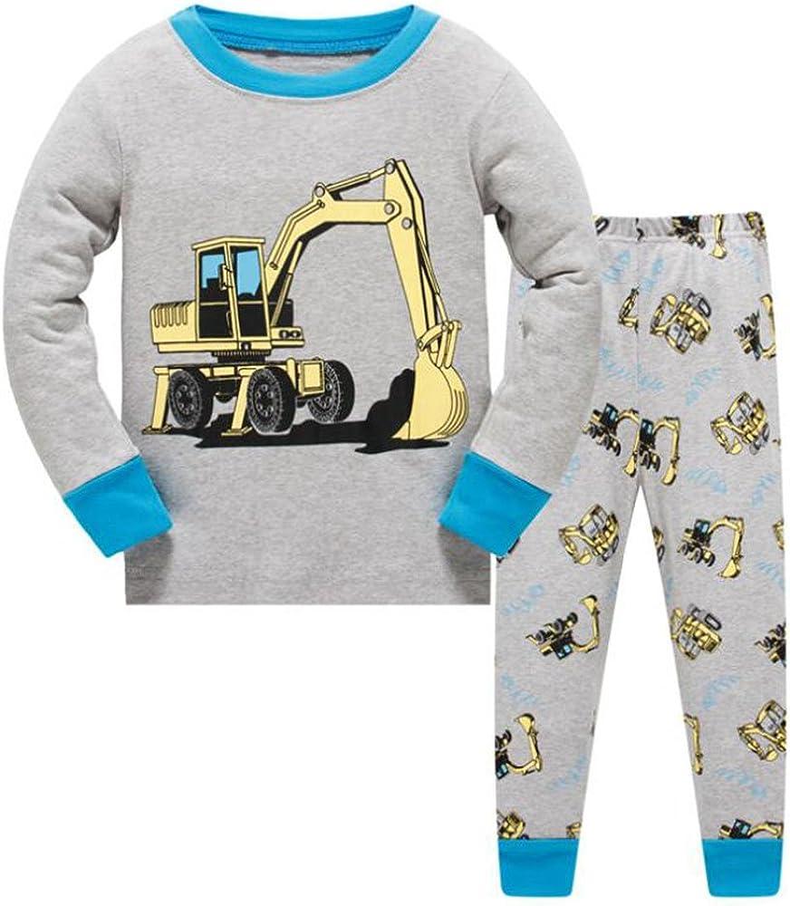 Niños Conjuntos de pijamas Niños Conjunto de ropa Niños Algodón ...
