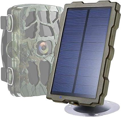 Braveking1 Cámara de Caza Panel Solar Trail Game Camera IP56 ...