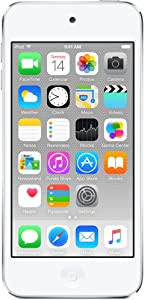 Apple iPod Touch 32GB Silver (6th Generation) MKHX2LL/A (Renewed)