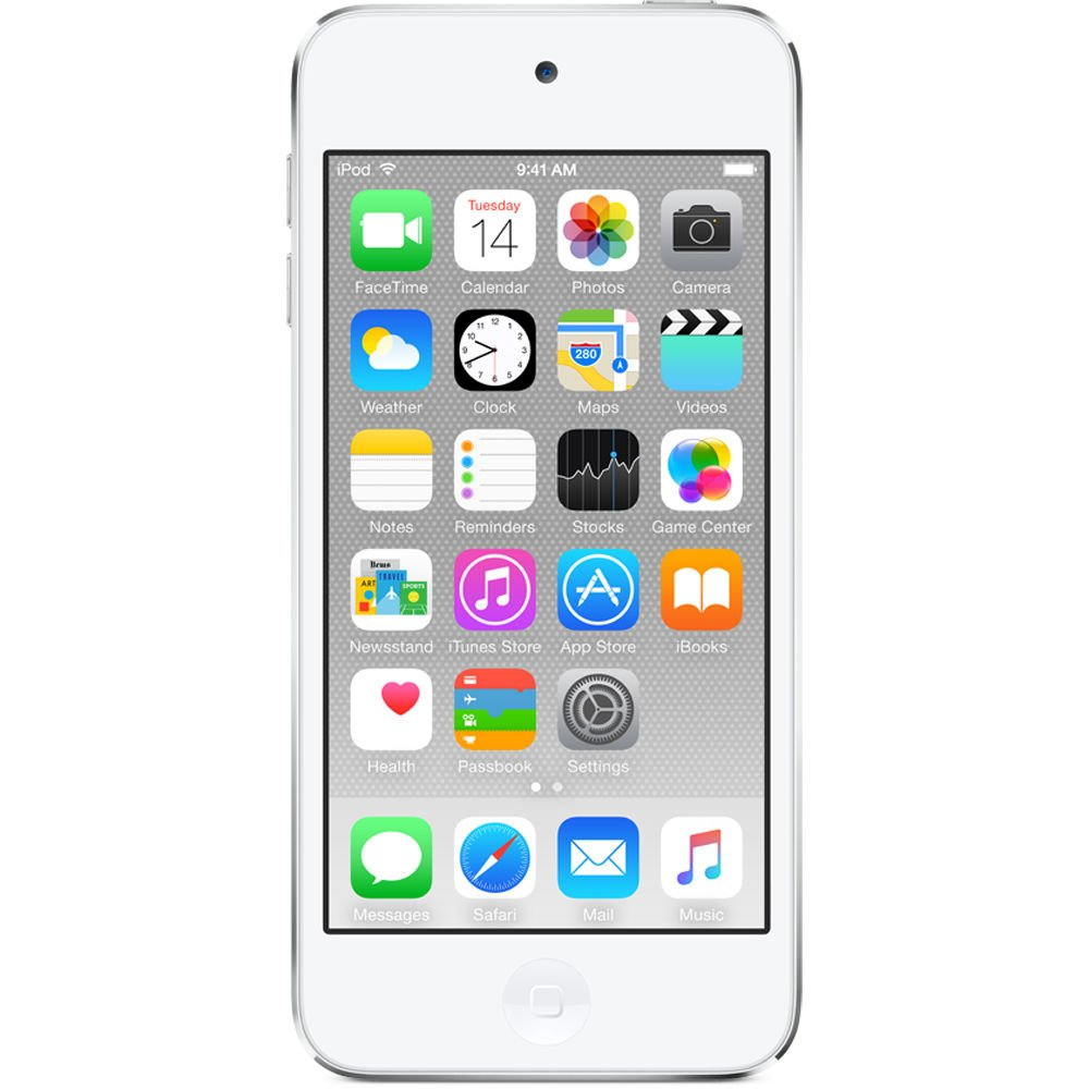 Apple iPod touch 64GB WiFi MP3 Player 6th Generation - Silver (Certified Refurbished)
