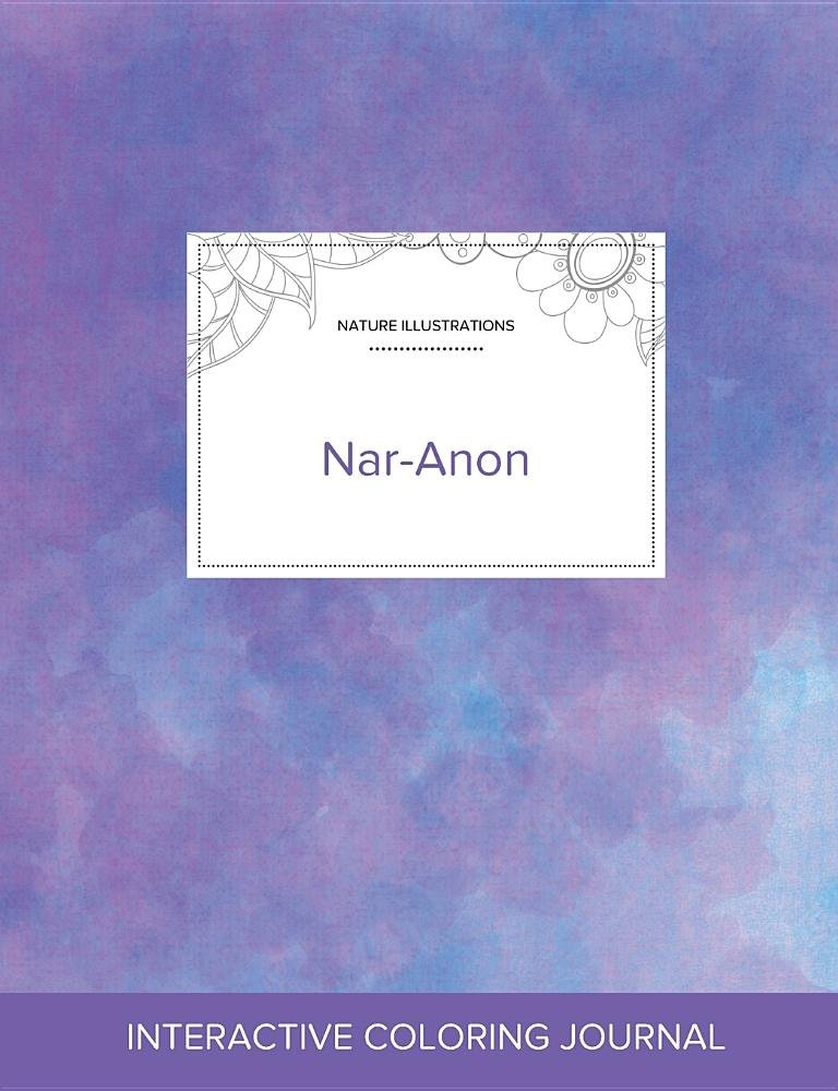 Adult Coloring Journal: Nar-Anon (Nature Illustrations, Purple Mist) pdf
