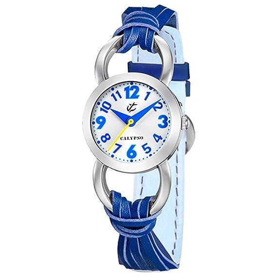 Calypso jugenduhr Chica Azul de color blanco Analog Calypso Relojes uk5193/4: CALYPSO: Amazon.es: Relojes
