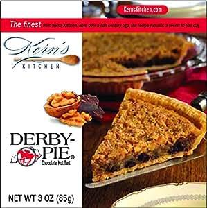 Derby Pie Chocolate Nut Pie - 3oz. Individual Size 4-pack