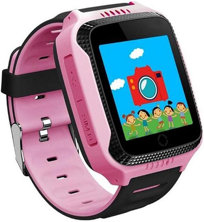 Q528 Reloj inteligente para niños GPS reloj con cámara LBS Tracker ...