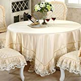 DIDIDD Grid Rectangle Tablecloth Fabric Living Room Dining Room Table-Cloth Table Cloth Picnic Blanket Pastorale Coffee Tea Table Cloth Cover Towels,B,160x220cm(63x87inch)