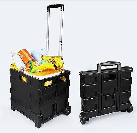 QXXZ Coche Tronco Organizador Auto Trolley Maleta Viaje Maleta ...