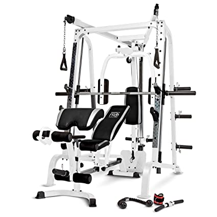 Amazon marcy diamond smith cage home gym system sports