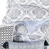 Anne Klein Porto Geometric Comforter Set with