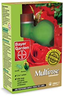 SBM Life Science Bayer Garden Multi Rose Fungicide Concentrate, 100 Ml