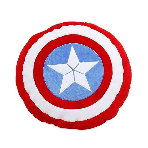 MIAOLIDP Capitán América Escudo Siesta Almohada Cojín Cojín ...