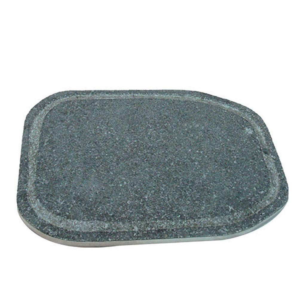 nobrand JANGSUCHENONGJEONGMAEUL Natural Stone for BBQ Cooking Pan (11.8'' X 15.7'') for Samgyeobsal Pork Belly Barbecue/BBQ Steak Grill by nobrand
