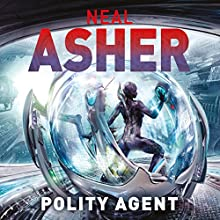 Polity Agent Audiobook by Neal Asher Narrated by Ric Jerrom