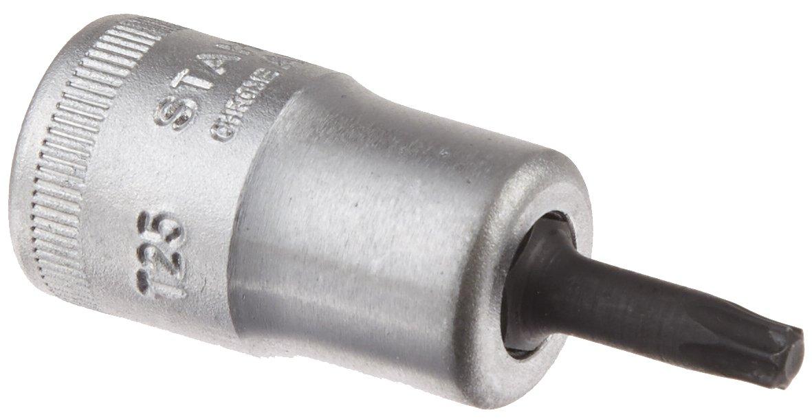 Silver Stahlwille STW49TXT30 3//8-Inch T30 Drive Torx Bit Socket