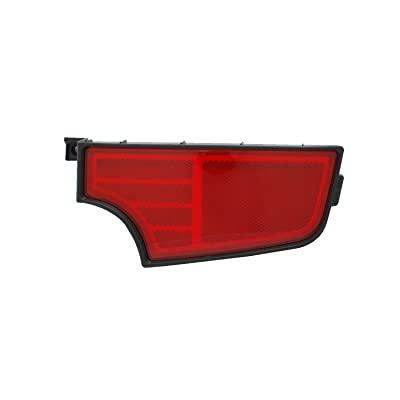 TYC 17-0321-00-1 Compatible with Kia Soul Right Replacement Reflex Reflector: Automotive