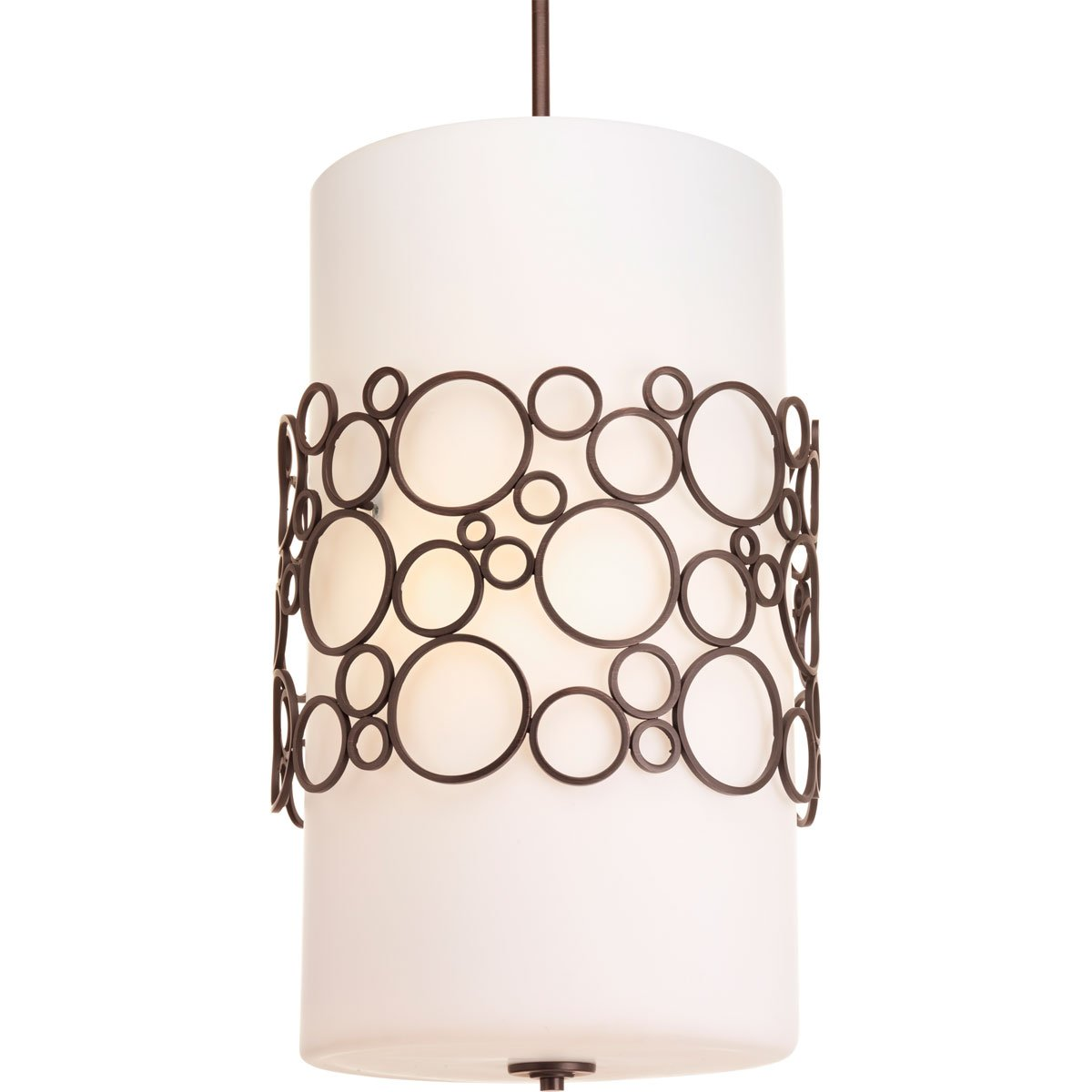 Progress Lighting P3711-74 Three-Light Foyer Pendant by Progress Lighting