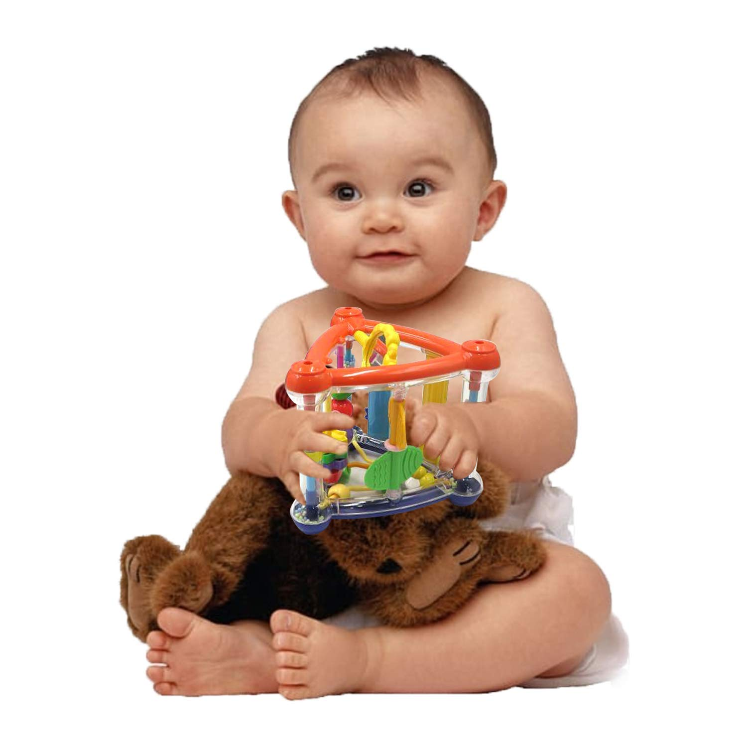 Educational Interactive Play Time Fun for Infants /& Newborn ● Great Gift for Parents 0-12 Months Baby Toy Activity Vimvo Hanging Cube Toys Learning
