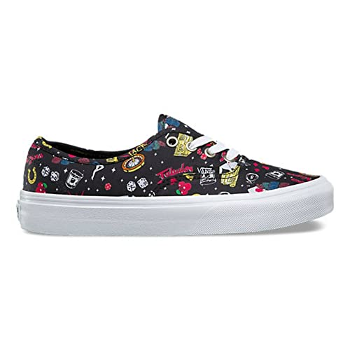 9788249b4521df Image Unavailable. Image not available for. Color  Vans Las Vegas Black  True White Womens Size 6.5 Fashion Skateboarding Shoes