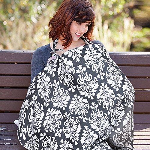 Manta para Amamantar, Toalla de lactancia, UHINOOS Ligera 100% algodón transpirable Lactancia materna, Delantal de...