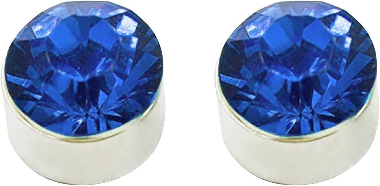 Pendientes de mujer, pendientes de circonitas de cristal, elegantes pendientes individuales, regalos de cumpleaños perfectos