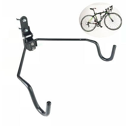 Wall bicycle mount Commercial Image Unavailable Amazoncom Amazoncom Saurka Foldable Bike Wall Mount Bike Rack Wall Bicycle