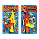 super bang cap gun - Super Bang Cap Machine Gun (2 Pack 2 colors)