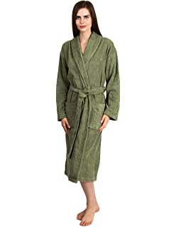 bbb6adaad7 Women s Terry Cloth Bath Robe - Luxury Comfy Robes by Texere ...
