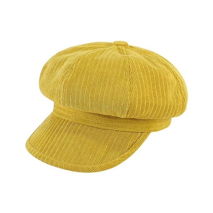 Salvaje octogonal sombrero, rayado retro artístico gorra de plato ...