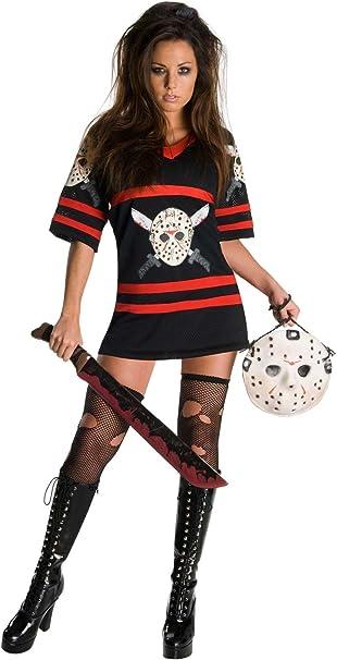 Amazon.com: Disfraz sexy de la señora Voorhees con ...