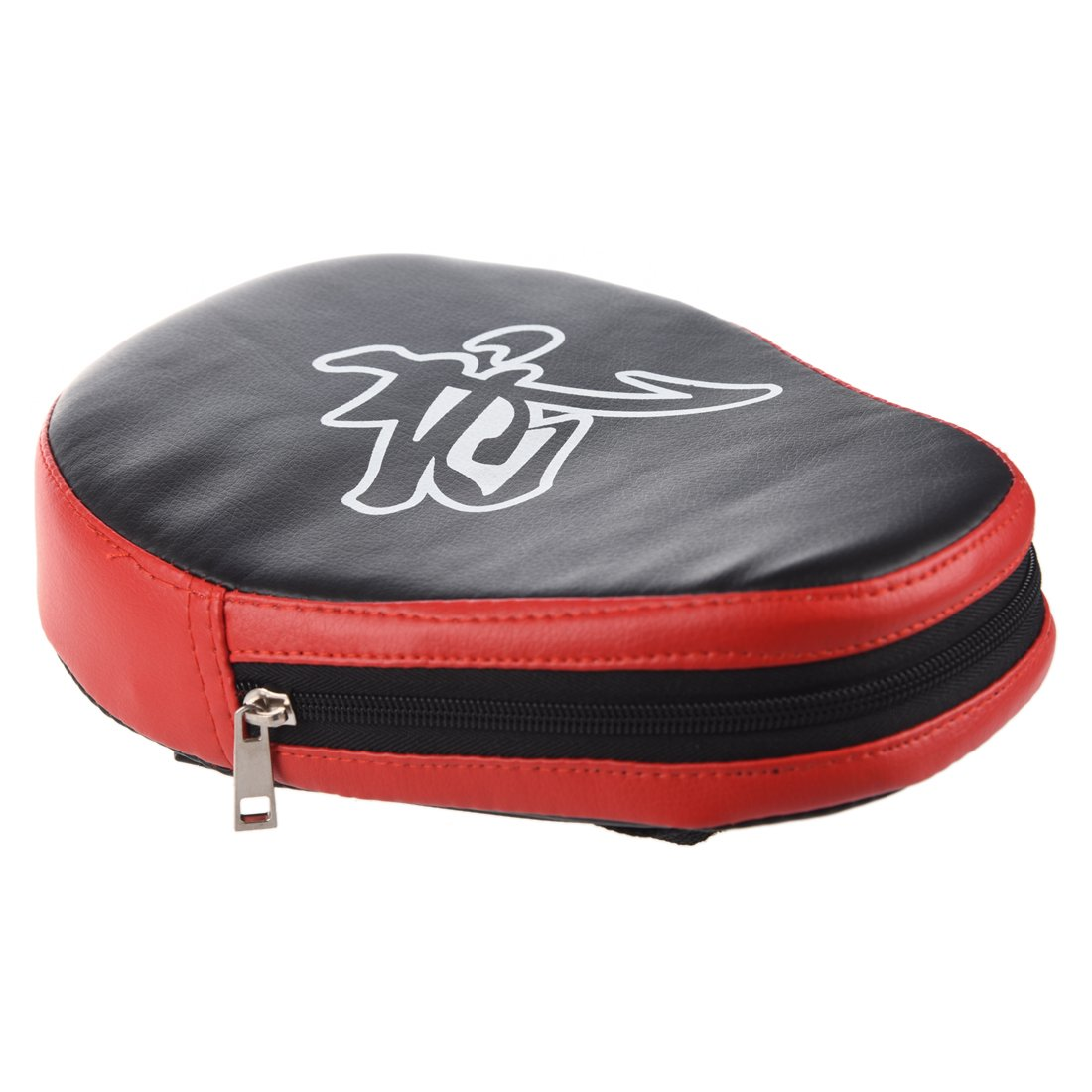 TOOGOO(R) - Guante de enfoque para entrenamiento de boxeo, manopla acolchada para practicar ganchos, golpes directos y patadas, de sparring, ...