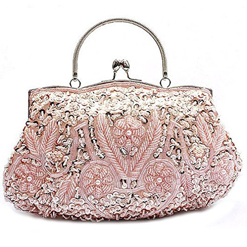 Bags Wedding Champagne Seed Women's Bead Belsen Evening PwBUR