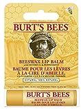 Burt's Bees Beeswax 100% Natural Lip Balm, 4.25g