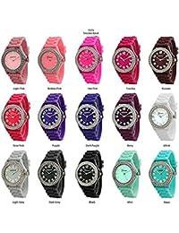Wholesale 12 Assorted Geneva Women's Watches