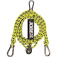 Jobe Schleppdreieck mit Pulley 12ft 2P Cuerda para esquí acuático, Unisex Adulto, Multicolor, Talla única