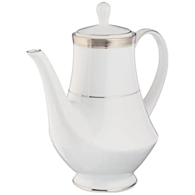 Noritake Crestwood Platinum Coffee Server