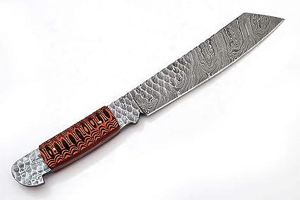 Amazon.com: Cuchillos Grace G-1073 hechos a mano y forjados ...