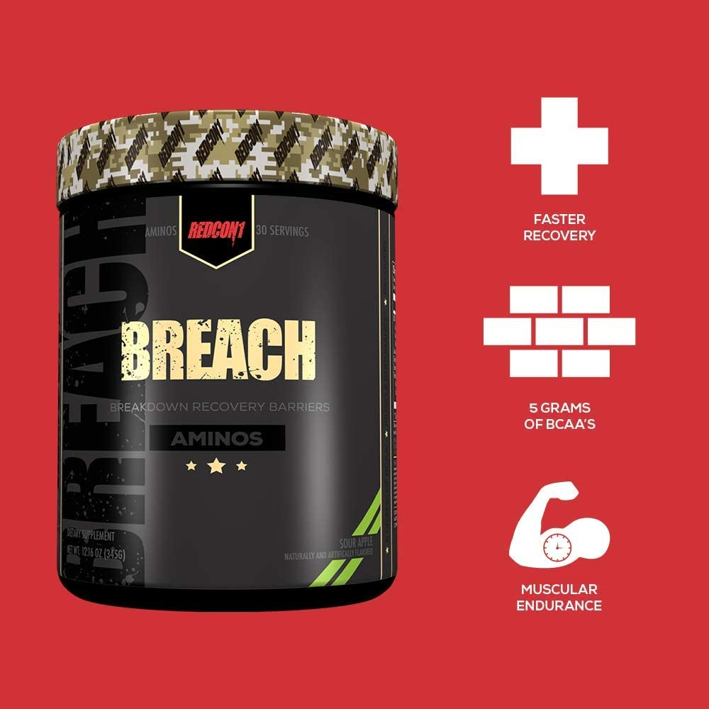 Amazon.com: Redcon1 Breach, Watermelon, 12.16 Ounce: Health & Personal Care