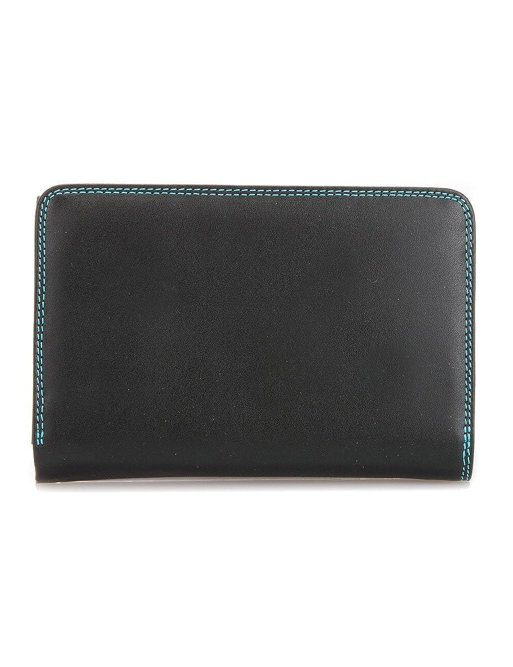 mywalit Medium Tri-fold Monedero piel 14 cm black/pace ...