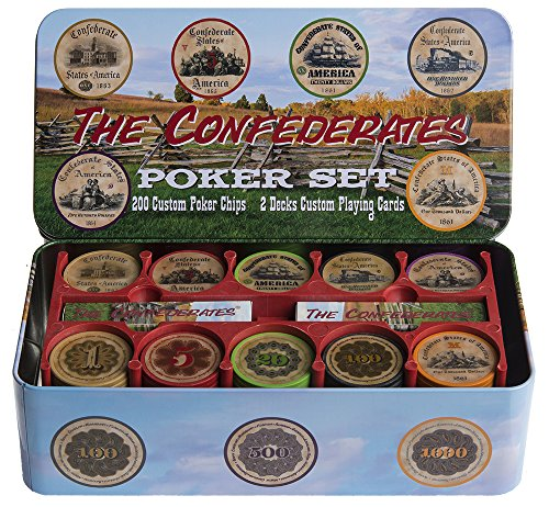 Nashville Train Set - The Confederates - Confederate Currency Poker Set!