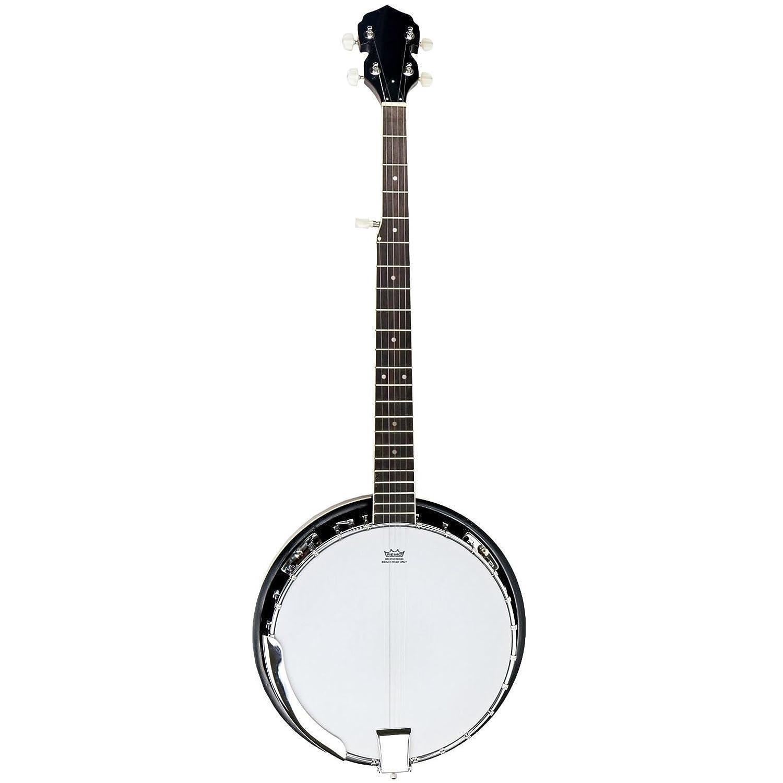 Bluegrass-Banjo mit Remo-Fell und 5 Saiten, von Oypla 3692A2P