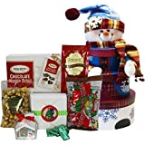 Snowman Stacking Tower Christmas Holiday Gift Box Set