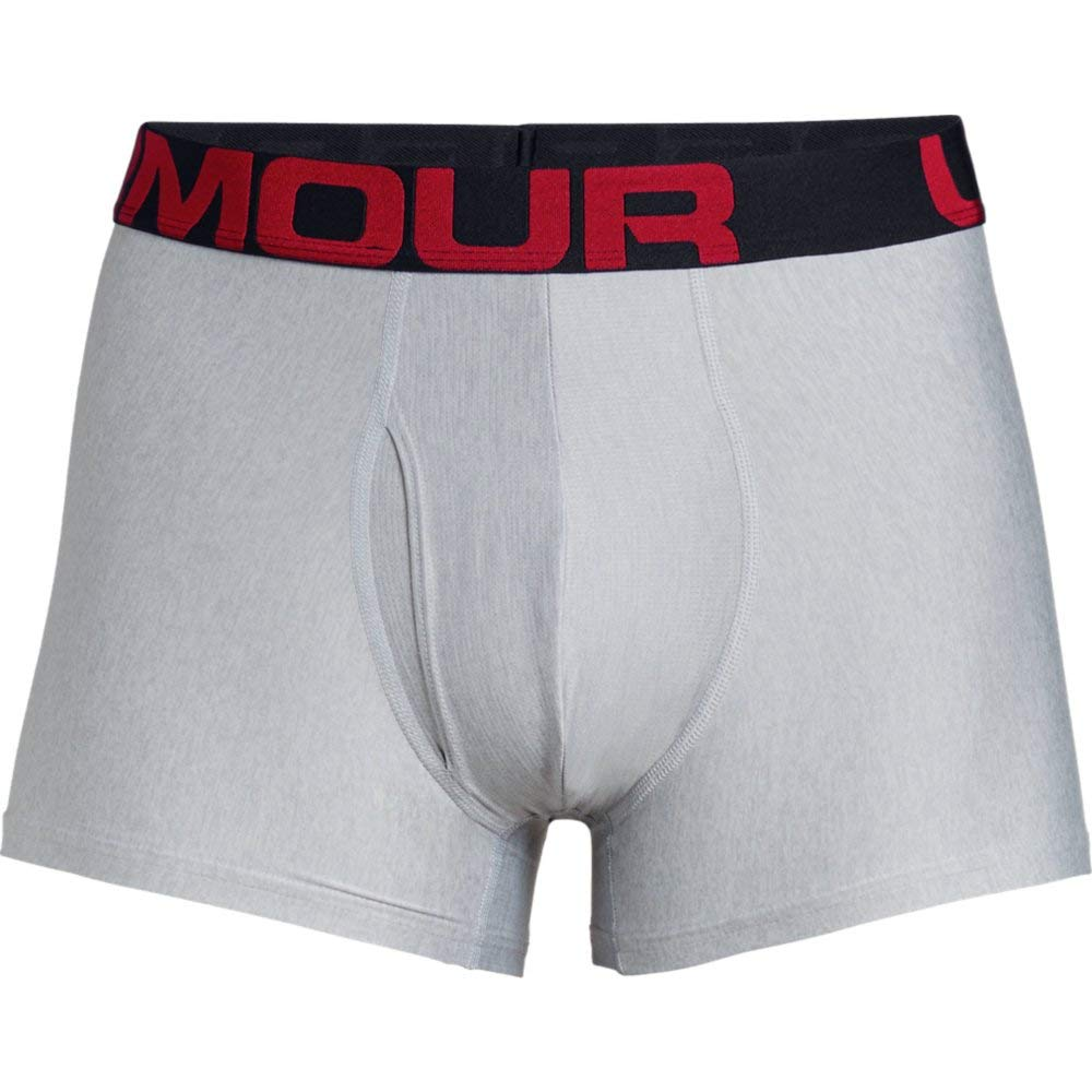 Under Armour Mens Tech 3 in 2 Pack Boxer Jock