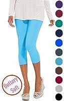 LMB Best Selling Extra Soft Capri Leggings - Lots Of Colors - (Fits Sizes 0-12)