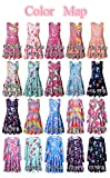 Jxstar hawaiian dress big girls clothes children clothes birthday party supplies Unicorn 150 10-11Years/Height:57in