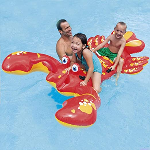 HXINFLABLE Inflable Ride-on Flotador Inflable, Pool Floatie Pool ...